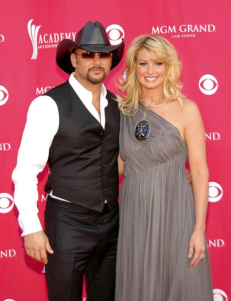 """Tim McGraw and Faith Hill have been making beautiful country music together since 1996. Chris Walter/<a href=""""http://www.wireimage.com"""" target=""""new"""">WireImage.com</a> - May 15, 2007"""