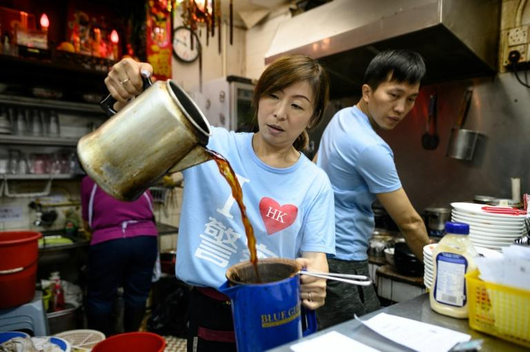 Kate Lee runs a traditional diner in Hong Kong