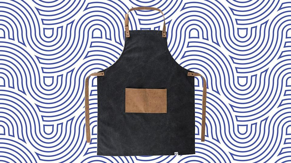 Barbecue is messy—this apron can help.