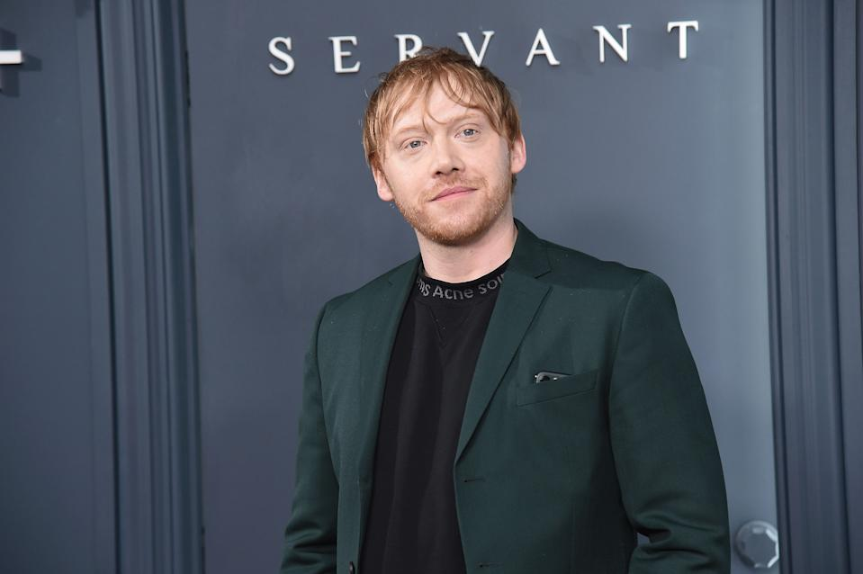 """NEW YORK, NEW YORK - NOVEMBER 19: Actor Rupert Grint attends Apple TV+'s """"Servant"""" World Premiere at BAM Howard Gilman Opera House on November 19, 2019 in New York City. (Photo by Gary Gershoff/WireImage)"""