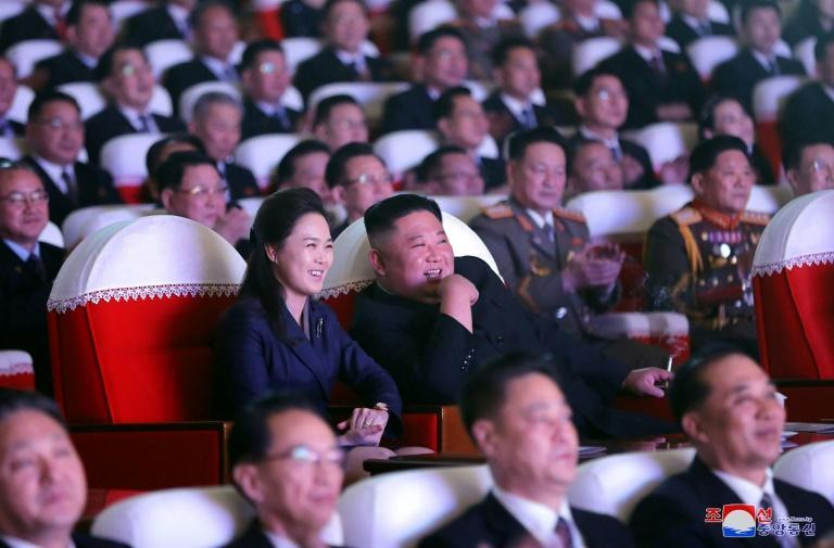 Ri Sol Ju, the wife of North Korean leader Kim Jong Un, has been seen in public for the first time in over a year