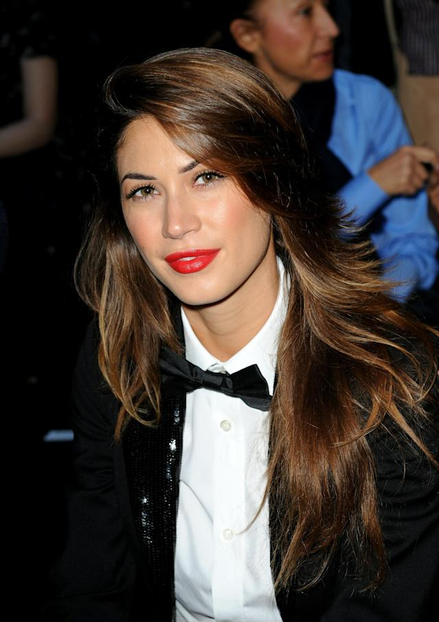 MILAN, ITALY - SEPTEMBER 27: Melissa Satta attends the DSquared 2 Milan Fashion Week Womenswear S/S 2011 show on September 27, 2010 in Milan, Italy. (Photo by Tullio M. Puglia/Getty Images)