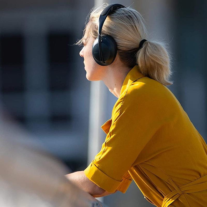 Save a whopping $120 on the Bose 700 noise-canceling headphones. (Photo: Bose)