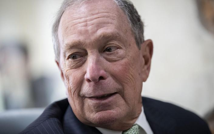Mike Bloomberg launched an unexpected bid for the 2020 Democratic presidential nomination in November 2019 - Getty Images North America