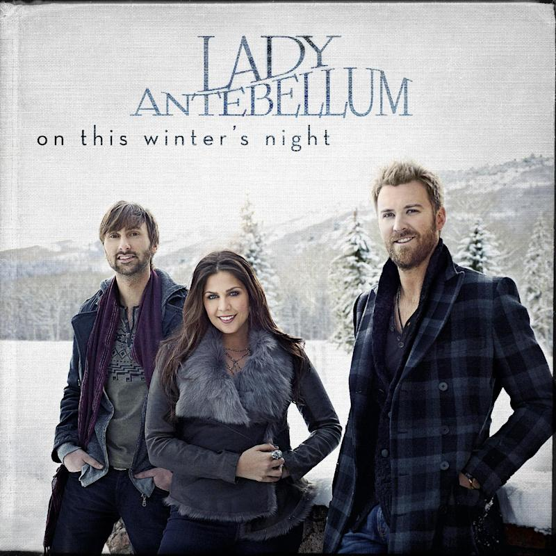 """This CD cover image released by Capitol Records shows the holiday release for Lady Antebellum, """"On This Winter's Night."""" (AP Photo/Capitol Records)"""