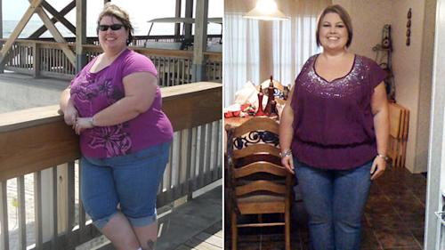 Inspired by Chris Powell, Woman Loses 130 Lbs
