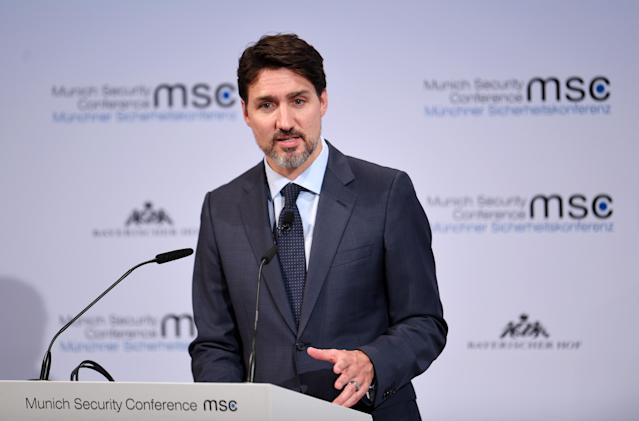Previously, Justin Trudeau said there were ongoing discussions about the funding. (Getty Images)