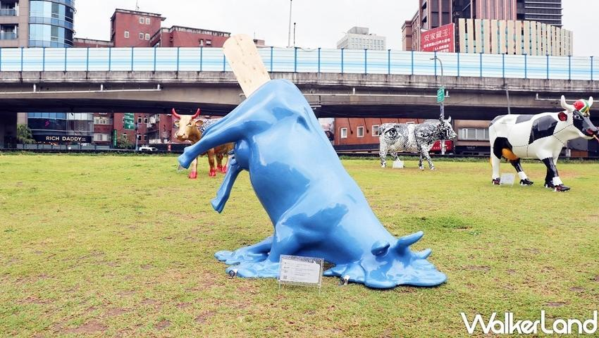 Known as one of the world's largest and most successful public art exhibitions, the cow parade is sure to attract many visitors in Taiwan. (Photo courtesy of Taipei Walker)