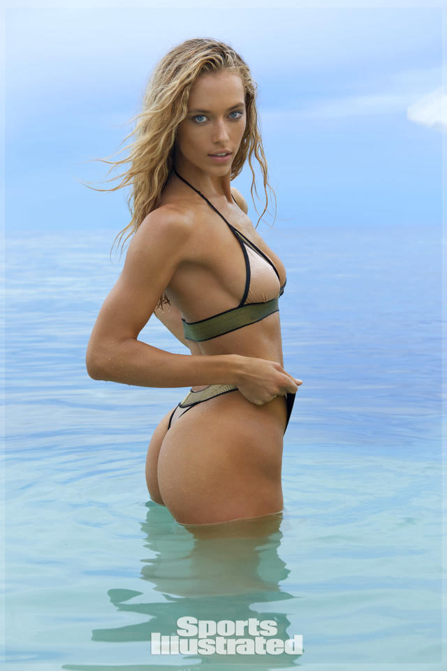 <p>Hannah Ferguson was photographed by Yu Tsai in Fiji. Swimsuit by Dolcessa</p>