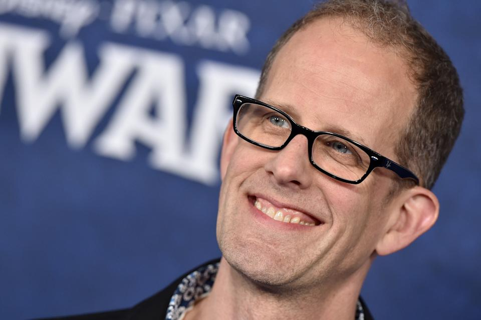"""HOLLYWOOD, CALIFORNIA - FEBRUARY 18: Pete Docter attends the premiere of Disney and Pixar's """"Onward"""" on February 18, 2020 in Hollywood, California. (Photo by Axelle/Bauer-Griffin/FilmMagic)"""
