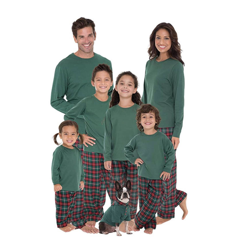 """<p><strong>PajamaGram</strong></p><p>amazon.com</p><p><strong>$49.99</strong></p><p><a href=""""https://www.amazon.com/dp/B01FE1PN8S?tag=syn-yahoo-20&ascsubtag=%5Bartid%7C10055.g.29263705%5Bsrc%7Cyahoo-us"""" rel=""""nofollow noopener"""" target=""""_blank"""" data-ylk=""""slk:Shop Now"""" class=""""link rapid-noclick-resp"""">Shop Now</a></p><p>These pajamas run large yet keep you soft and cozy. They come in sizes for the whole family. </p><p><strong>RELATED:</strong> <a href=""""https://www.goodhousekeeping.com/holidays/gift-ideas/g23743369/gifts-for-couples/"""" rel=""""nofollow noopener"""" target=""""_blank"""" data-ylk=""""slk:22 Thoughtful Gifts for Couples That They Can Actually Enjoy Together"""" class=""""link rapid-noclick-resp"""">22 Thoughtful Gifts for Couples That They Can Actually Enjoy Together</a></p>"""
