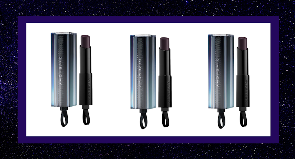 Givenchy's Rouge Interdit Vinyl in Noir Révélateur makes it easy to find your perfect lipstick shade.
