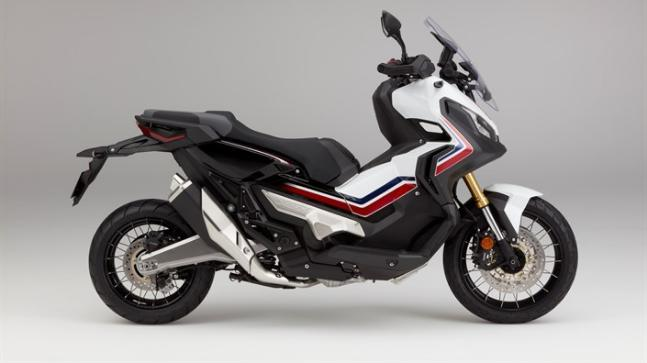 The Honda X-ADV is a moto-scooter which can be ridden both on and off the road.