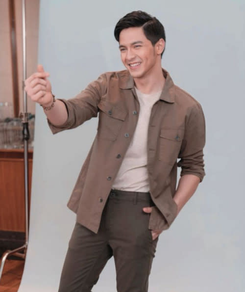 Alden Richards sends his love to his fans