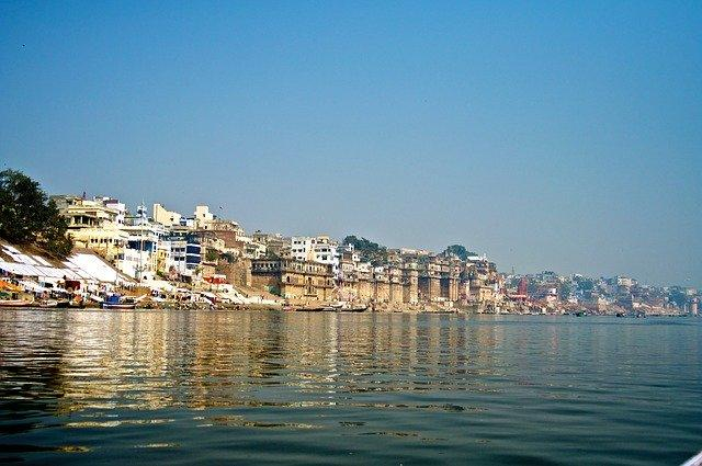 "The Ganga in Varanasi. Image credit: Image by <a href=""https://pixabay.com/users/oreotikii-5545147/?utm_source=link-attribution&amp;utm_medium=referral&amp;utm_campaign=image&amp;utm_content=2371751"">oreotikii</a> from <a href=""https://pixabay.com/?utm_source=link-attribution&amp;utm_medium=referral&amp;utm_campaign=image&amp;utm_content=2371751"">Pixabay</a>"