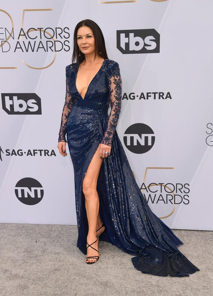 The Sexy Trend That Dominated The  Sag Awards Red Carpet