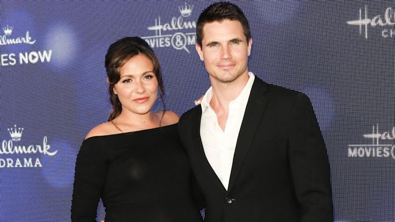 Italia Ricci and Husband Robbie Amell Share How They're Celebrating Birth of First Child (Exclusive)