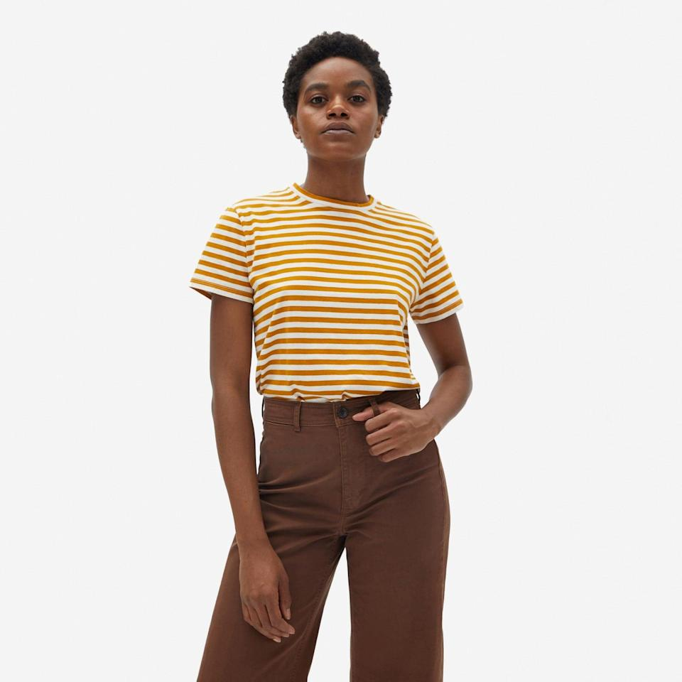 <p>You'll never want to take off <span>The Organic Cotton Box-Cut Tee</span> ($20).</p>