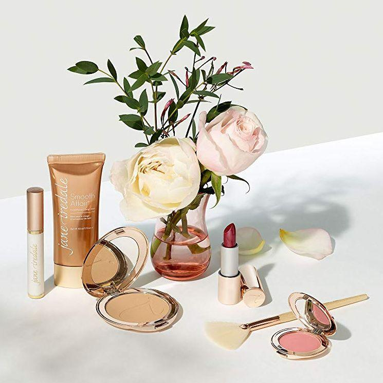"""This brand is known for its 100% clean mineral makeup and skin care products, and is beloved by celebs like Emma Watson. <strong><a href=""""https://amzn.to/30w0vWd"""" target=""""_blank"""" rel=""""noopener noreferrer"""">Get it on Prime Day for 30% off</a></strong>."""