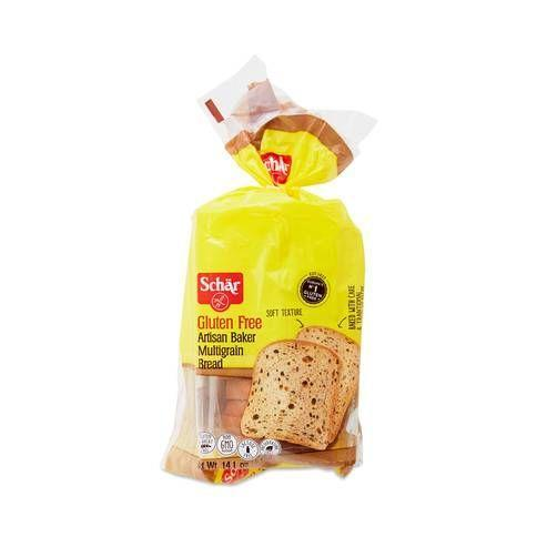 """<p><strong>Schar</strong></p><p>Thrive Market</p><p><strong>$4.99</strong></p><p><a href=""""https://go.redirectingat.com?id=74968X1596630&url=https%3A%2F%2Fthrivemarket.com%2Fp%2Fschar-artisan-baker-multigrain-bread&sref=https%3A%2F%2Fwww.delish.com%2Fcooking%2Fnutrition%2Fg27629746%2Fbest-gluten-free-bread-brands%2F"""" rel=""""nofollow noopener"""" target=""""_blank"""" data-ylk=""""slk:BUY NOW"""" class=""""link rapid-noclick-resp"""">BUY NOW</a></p><p>This loaf is made with a gluten-free mix of sourdough, millet, buckwheat, quinoa, sunflower and flax seeds, and honey. Our kitchen team thought it was neither too dry nor too rubbery, two common qualms about gluten-free breads. The flavor isn't groundbreaking (we think it could use a little salt), but it's slightly sweet and would work well with just butter or a whole slew of sandwich toppings. This is one of the best of the bunch.<br></p>"""
