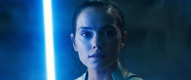 STAR WARS: THE RISE OF SKYWALKER, (aka STAR WARS: EPISODE IX), Daisy Ridley as Rey, 2019. Walt Disney Studios Motion Pictures / Lucasfilm / courtesy Everett Collection
