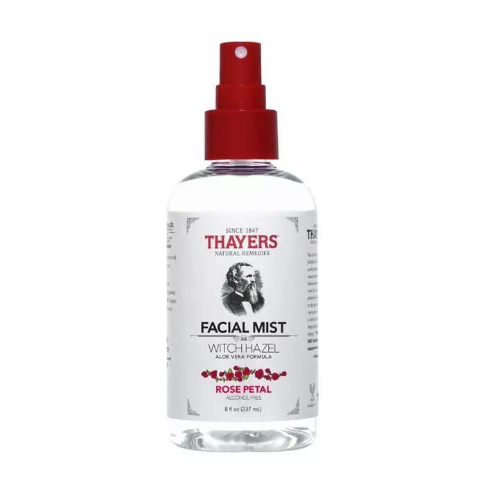 "<p>""The first toner I ever truly become obsessed with was the <a href=""https://www.popsugar.com/buy/Thayers-Witch-Hazel-Rose-Alcohol-Free-Toner-587537?p_name=Thayers%20Witch%20Hazel%20Rose%20Alcohol-Free%20Toner&retailer=target.com&pid=587537&price=11&evar1=bella%3Auk&evar9=40920323&evar98=https%3A%2F%2Fwww.popsugar.com%2Fbeauty%2Fphoto-gallery%2F40920323%2Fimage%2F47601973%2FThayers-Witch-Hazel-Rose-Alcohol-Free-Toner&list1=makeup%2Cbeauty%20products%2Ceditors%20pick%2Cbeauty%20shopping%2Cbeauty%20news%2Cdrugstore%20beauty%2Cskin%20care&prop13=api&pdata=1"" class=""link rapid-noclick-resp"" rel=""nofollow noopener"" target=""_blank"" data-ylk=""slk:Thayers Witch Hazel Rose Alcohol-Free Toner"">Thayers Witch Hazel Rose Alcohol-Free Toner</a> ($11) and although I incorporate new ones into my routine every now and then to test, I always come back to this one. It leaves my skin feeling balanced and clean without stripping it of moisture. At the end of a long day, a spritz of this feels like the most refreshing thing in the world."" - JH</p>"
