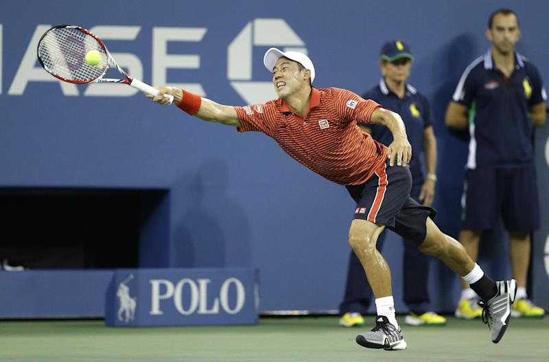 Nishikori beats Raonic in 5 sets at US Open