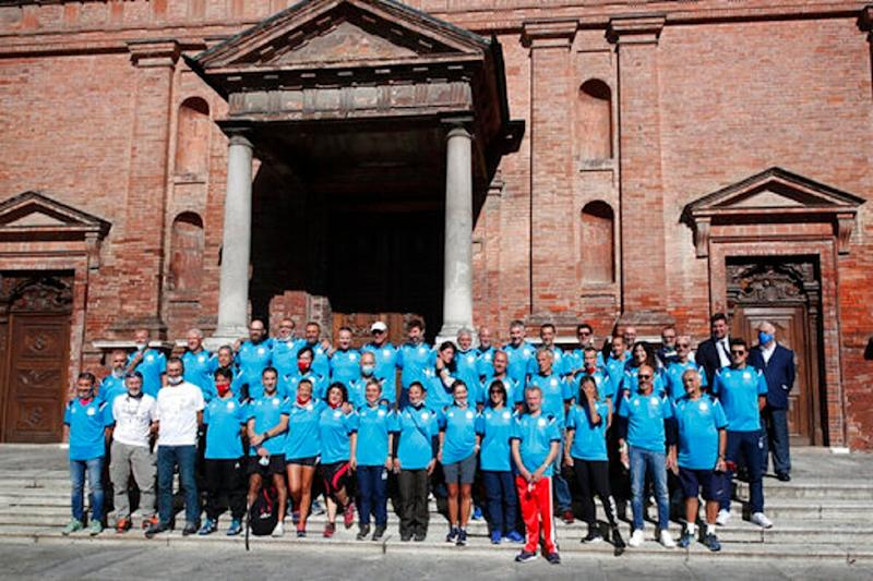Italy's Coronavirus Patient No 1 Takes Part in Long-distance Relay Race