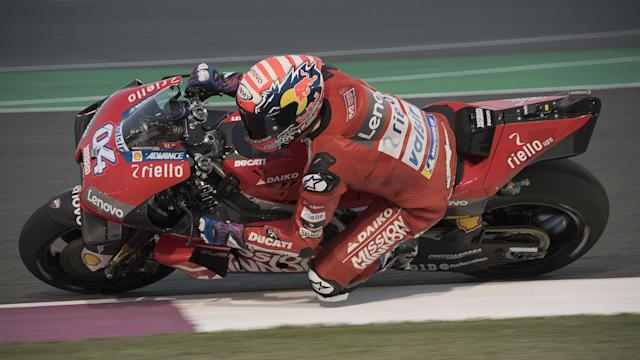 MotoGP stewards have rejected complaints against a spoiler used by Qatar Grand Prix winner Andrea Dovizioso.