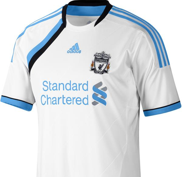new concept 36eab f714c Mixed reaction to new Liverpool third kit