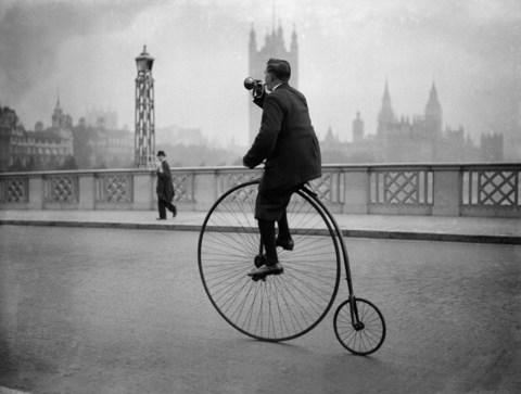 penny farthing - Credit: Getty