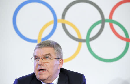 International Olympic Committee announces its decision on sanctions for Russian athletes, in Lausanne