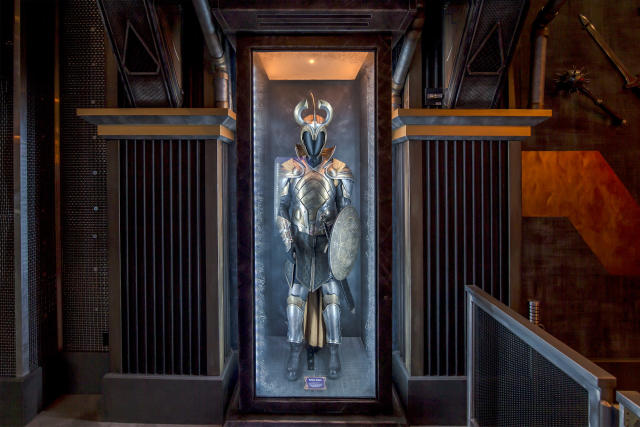 <p>The uniform of Odin's elite Einherjar warriors has been featured in the <em>Thor</em> films. (Photo: Disneyland Resort) </p>
