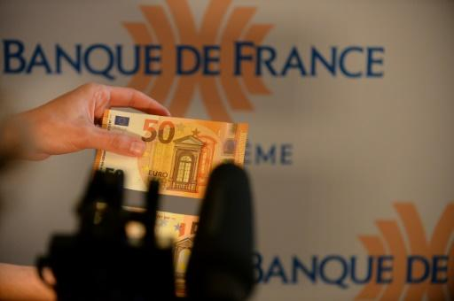 New anti-forgery 50-euro note launched