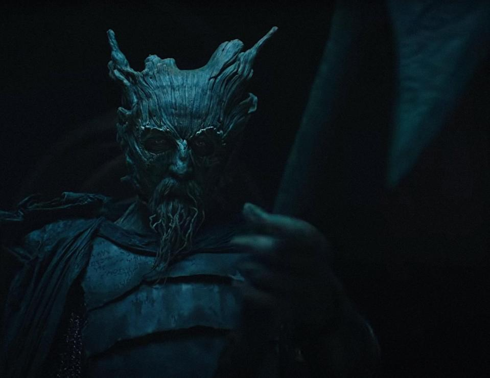 Ralph Ineson as the Green Knight