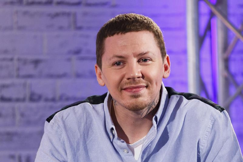 Professor Green has undergone surgery: Getty Images