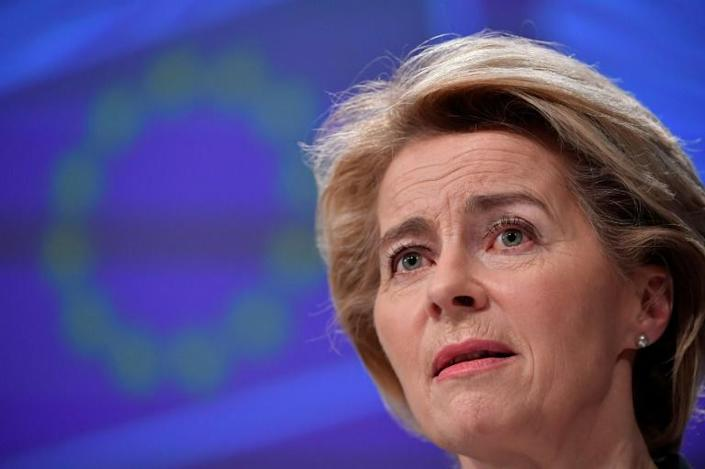 European Commission chief Ursula von der Leyen has promised to help Italy in the fight against coronavirus (AFP Photo/JOHN THYS)