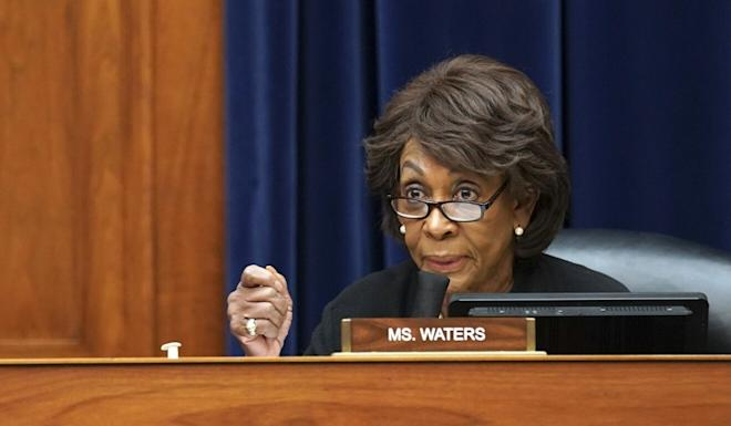 Representative Maxine Waters, Democrat of California, was emphatic in her support for the bill. Photo: AP