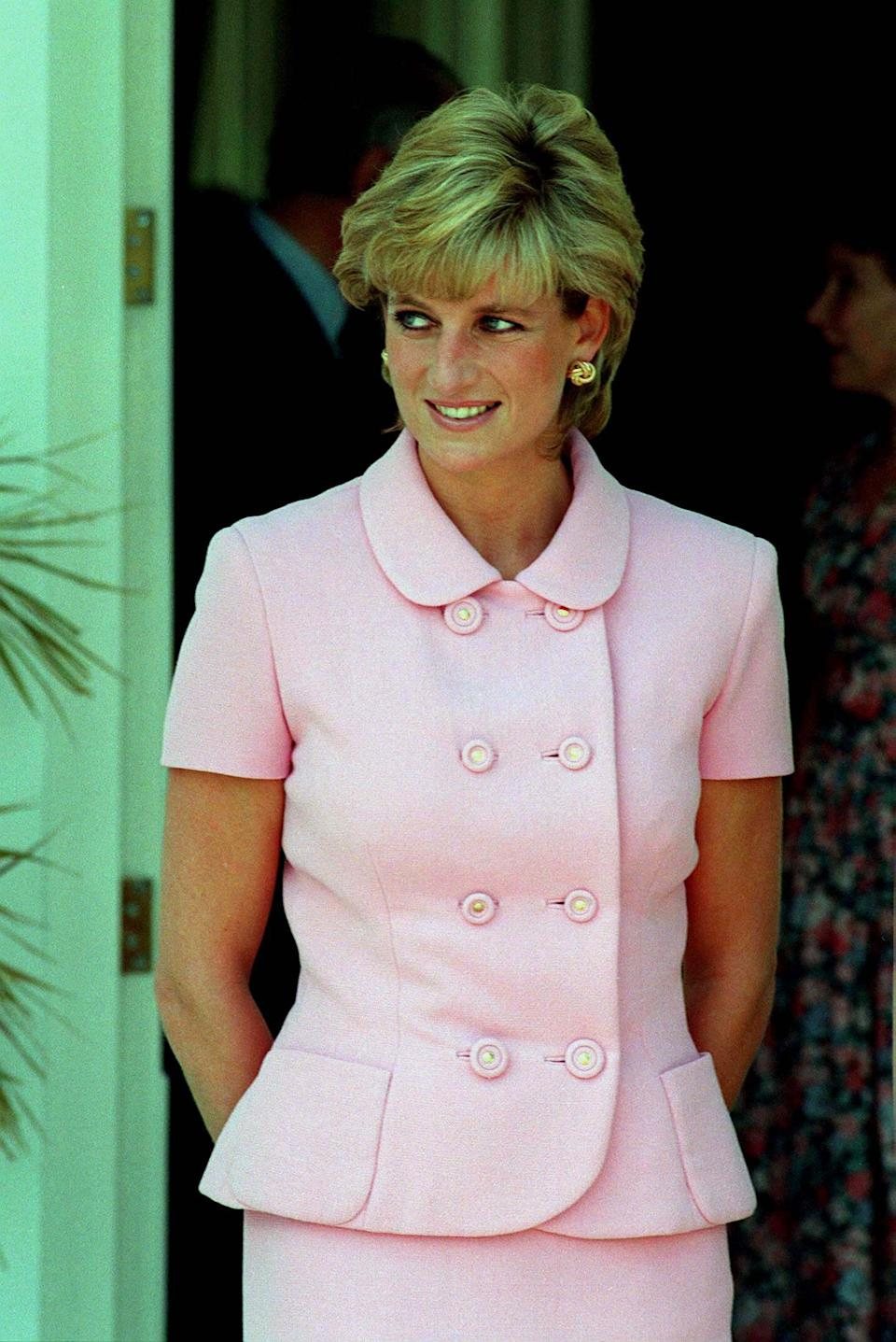 Princess Diana pictured in 1995 (Photo: Anwar Hussein via Getty Images)