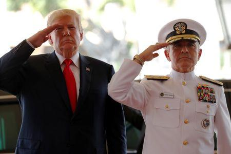 Trump visits Hawaii before beginning a nine-day visit to Asia