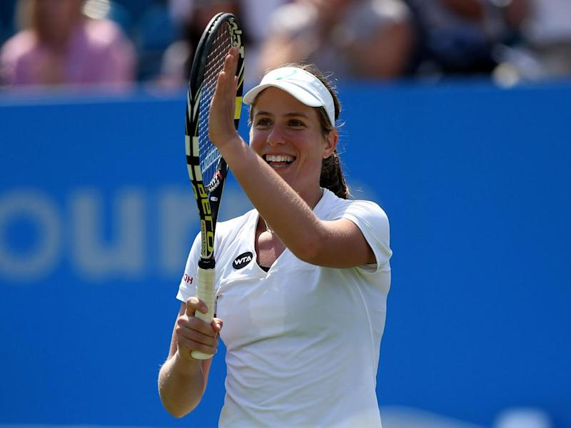 Konta's fine run began at Eastbourne back in 2015 (Getty)