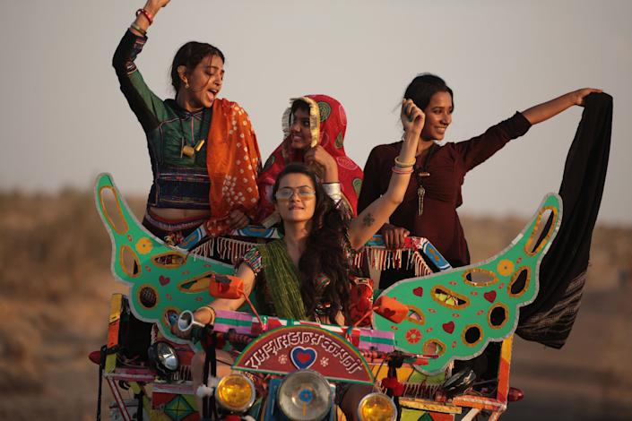 A still from 'Parched'