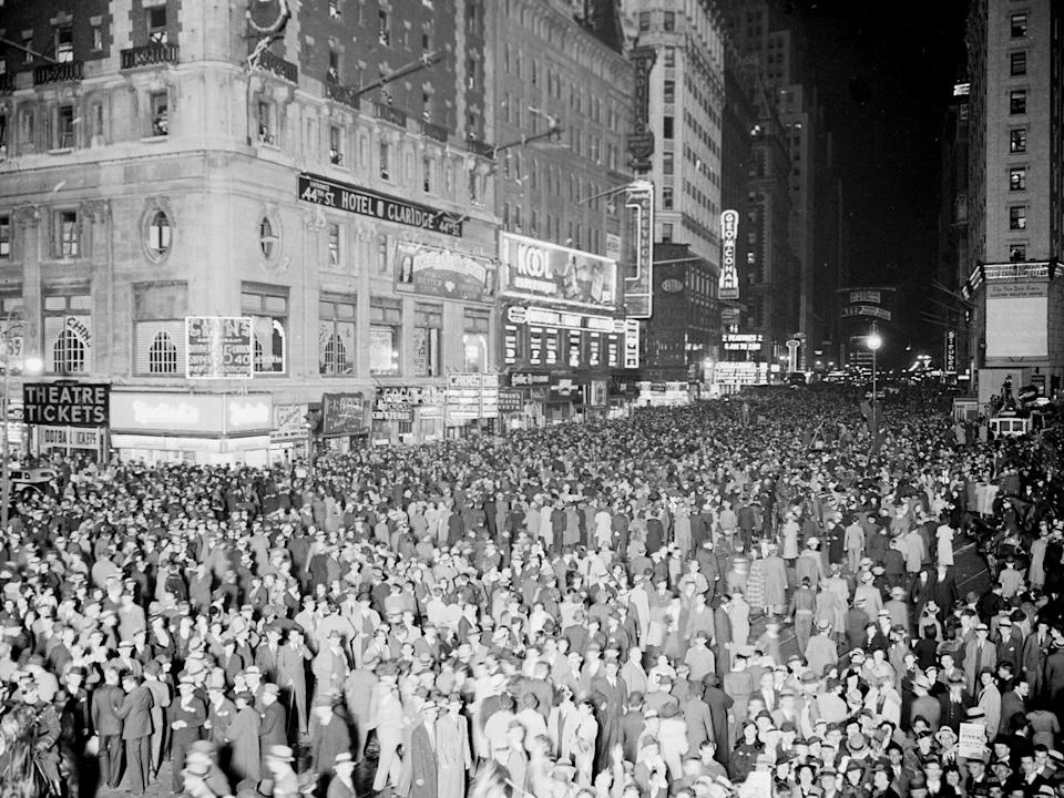 fdr 1936 election night