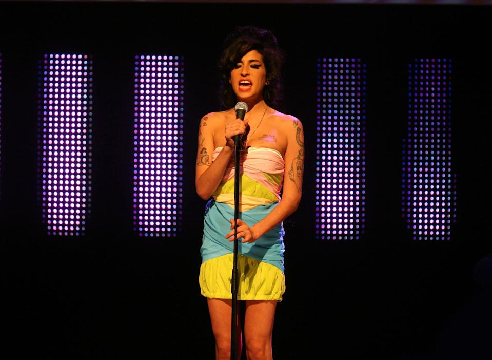 A previously unheard Amy Winehouse has made its way online. (PA)