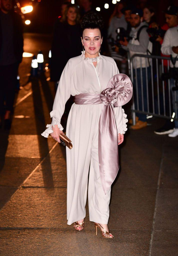 <p>The <em>Younger</em> star also attended the fashion designer's wedding.</p>