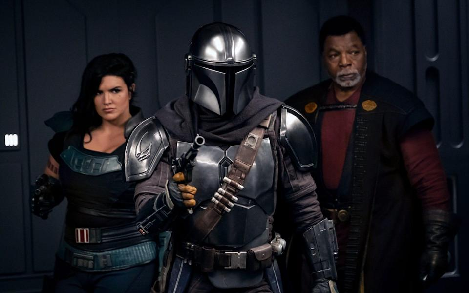 More Western than sci-fi - The Mandalorian is the best instalment in the Star Wars franchise in years - Disney