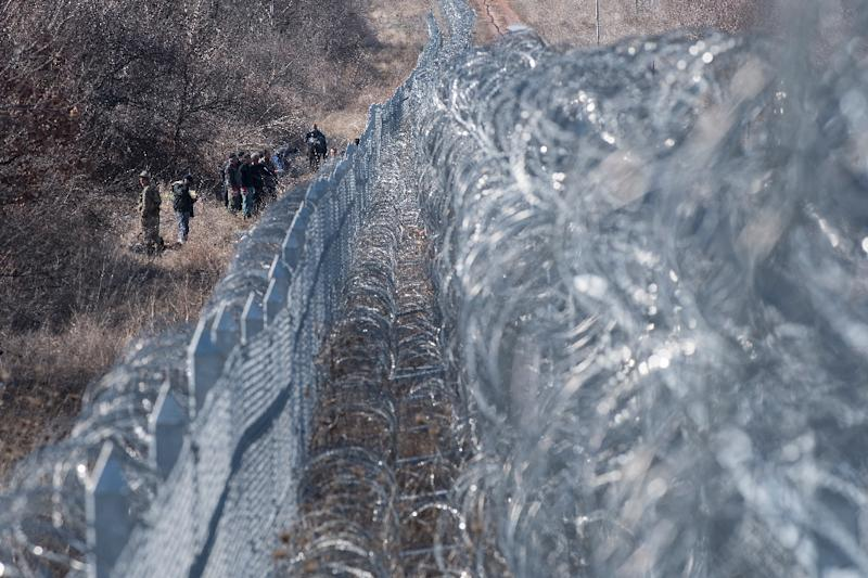 Bulgaria has already built over 200 kilometres of razor-wire topped fences to halt an influx of Syrian, Afghan and other migrants last year
