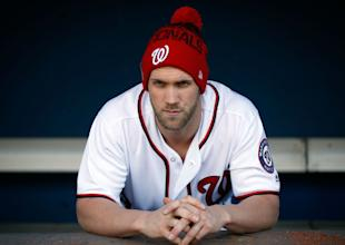 Bryce Harper will be a free agent after the 2018 season. (Getty Images)