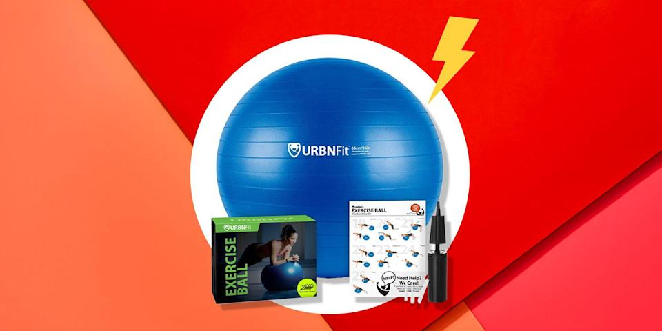 <p>Not every workout tool you buy for your home gym has to be an expensive, heavy piece of machinery. You can still build a functional home gym, while saving up to invest in a squat rack or a Peloton. If you're looking for something affordable to add to your home gym right now, consider an exercise ball. </p><p>Exercise balls level up your regular workouts by deepening stretches, forcing you to engage more muscle groups, and if you've opted for a medicine ball, turning your regular bodyweight work into strength-training exercises. </p><p>Whether you're looking for a sturdy, inflatable ball to do some crunches on or a weighted medicine ball that won't ruin your hardwood floors, here's a list of the best exercise balls of 2020, according to user reviews. </p>