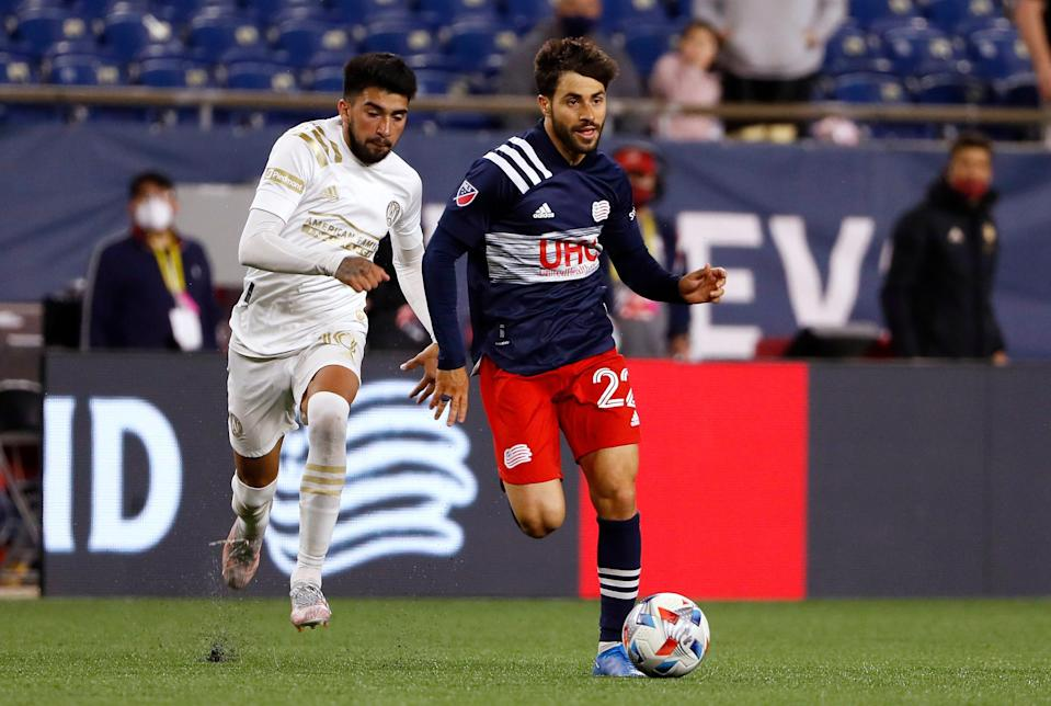 New England Revolution midfielder Carles Gil (22) has emerged as one of Major League Soccer's best players.